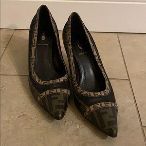 Vintage Fendi Court Heels